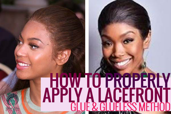 Youtube How To Put On A Lace Front Wig 93