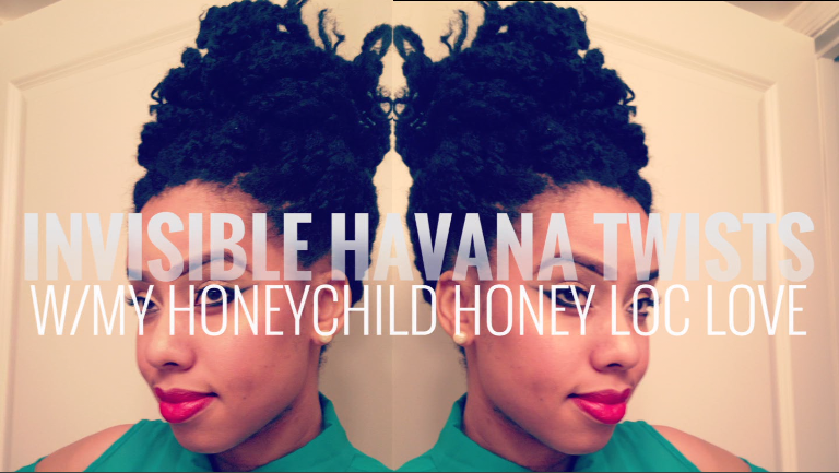 Invisible Root Havana Twists Tutorial