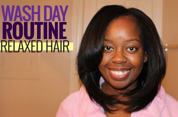 My Wash Day Routine for Relaxed Hair thumbnail