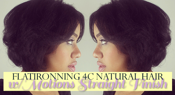 Can You Flat Iron 4c Natural Hair Blackhairkitchen